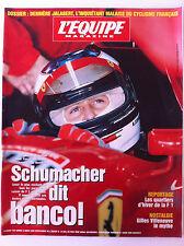 L'Equipe Magazine 9/03/1996; Schumacher/ Villeneuve/ Dossier Jalabert/ Smirnov