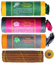 Inciensos 3er set Tibetan Frank incense-lemongrass-White Lotus