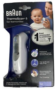 Braun ThermoScan 5 Digital Ear Thermometer IRT 6500 Infants Children