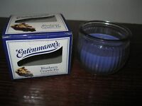 ENTENMANN'S 3 OZ SCENTED JAR CANDLE ~ BLUEBERRY CRUMB PIE ~ NEW!