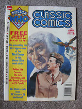'Doctor Who - Classic Comics' Issue 4 - TV Action/TV Comic Reprints - Marvel