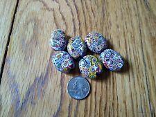 Vintage Venetian millefiori beads