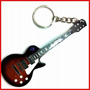 LES PAUL GUITARE MINIATURE PORTE CLE ! Dark Tobacco Burst Signature Electric key