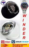 Compact Single Display Automatic Watch Winder model: Atom-1BPL/WPL