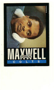 1985 Topps Football - Vernon Maxwell (Indianapolis Colts) #264