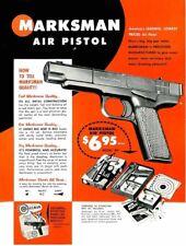 Marksman 1968 Air Pistol Flyer
