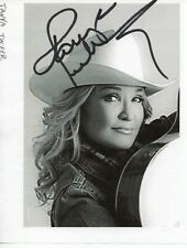 Tanya Tucker Autographed 4 x 5 inch Paper Photo As Pictured