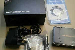 AGPTEK HD Game Capture Card HD Video Capture 1080P HDMI/YPBPR Video Recorder(EU)