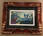 """GEORGE RODRIGUE BLUE DOG """"HAWAIIAN BLUES"""" 1998-Rodrigue Authenticity Included"""
