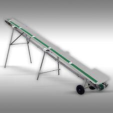 Förderband Jansen FB-500, Transportband für Brennholz, 5m, Gurtförderer, Elektro