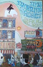 MY MORNING JACKET FILLMORE POSTER Saul Williams ORIGINAL Bill Graham F728 Silva