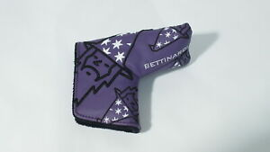 New! BETTINARDI GOLF TOUR DEPARTMENT PURPLE WIZARD PUTTER COVER HEADCOVER