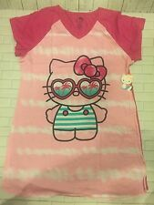 Hello Kitty Sleep Shirt Size 2X 3X (20W-24W)  Womens Nightgown Pajamas Pink