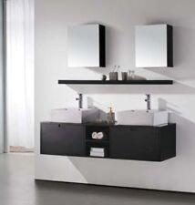 """Bathroom Vanity - Modern Bathroom Vanity Set - Double Sink - Riviera Ii - 63"""""""