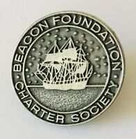 Beacon Foundation Charter Society Pin Badge Rare Vintage (N4)