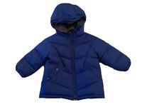 Zara Baby Boys Winter Padded Coat - Blue, 12-18 Months