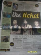 THE TICKET BIFFY CLYRO July 1 2016 Daily Record