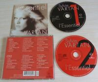 2 CD ALBUM BEST OF L'ESSENTIEL SYLVIE VARTAN 48 TITRES 1995