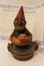 Tom Clark Gnome - Buddy - Coa, Story Card, 1990 Retired