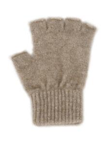 Open Finger Gloves, Possum Fur and Merino Wool Knitwear, made in New Zealand
