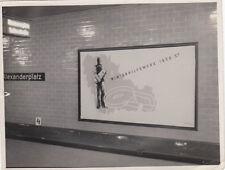 org. FOTO LAVAGNA PUBBLICITARIA IM BHF Alexanderplatz 1936/37 Berlino (G2766)