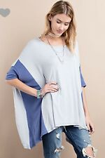 EASEL 3/4 sleeve Tunic - S M L