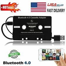 Car Audio Cassette Tape 3.5mm Aux Adapter For iPhone iPod Mp3 Md Cd Music Player