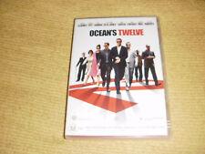 OCEAN'S TWELVE 2005 DVD George Clooney brad pitt Matt Damon julia roberts R4