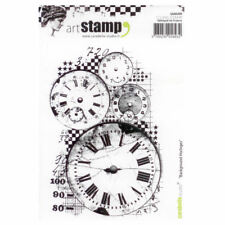 Carabelle Studio A6 Unmounted Stamp - Background Horloges