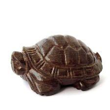 Wood Happy Lucky Longevity Turtle Figurine