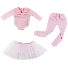 Hot Handmade Pink Doll Clothes Ballet Dress Fit for 18'' American Girl Dolls