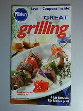 PILLSBURY Cookbook Booklet GREAT GRILLING 2002 #255