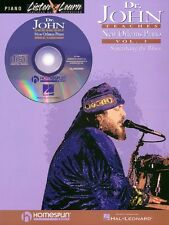 Dr. John Teaches New Orleans Piano Volume 3 - Piano Book and CD NEW 000699094