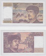GERTBROLEN  20 FRANCS ( DEBUSSY ) de 1980  X.002 Billet N°  0046445259