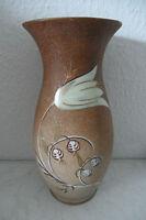 Große sehr dekorative Vase von Oscar Schlegelmilch Thüringen mit Handmalerei