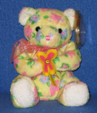 TY BLOOM the BEAR BEANIE BABY - MINT with MINT TAGS