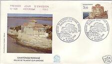2352+ FDC ENVELOPPE 1er JOUR SAINTONGE  ROMANE