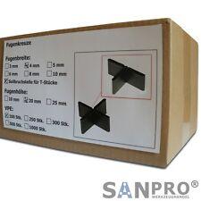 100 Stk. Fugenkreuze 4mm für Terrassenplatten Bodenplatten Fliesenkreuze 4 mm