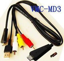 USB & AV Cable for Sony DSC-T99 T99D T99V T99B T99G T99P W320 W320B W320P W320S
