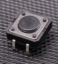 10x 12x12mm Tactile Switch Momentary NO SPST Button for Arduino Raspberry Pi USA
