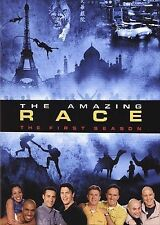 The Amazing Race - The Complete First Season (DVD, 2005, 4-Disc Set, Checkpoint)