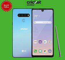 Brand New LG Stylo 6 LMQ730AM - 64GB - Blue (Cricket Wireless) Original