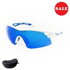 Bollé VORTEX Herren Sonnenbrille Radbrille Sportbrille 12264 Gr M weiß blau SALE