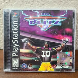 NFL Blitz (Sony PlayStation, 1998) Complete PS1 - Acceptable, See ALL Pictures!