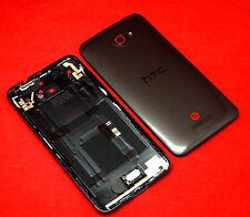 Original HTC Butterfly pl99300 Funda trasera Tapa batería Volume teclas altavoces