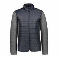 CMP Strickjacke Jacke Man Jacket grau atmungsaktiv wärmend isolierend meliert