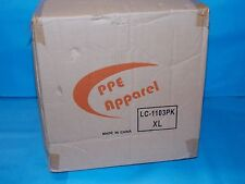 PPE APPAREL LAB COATS POLPROPYLENE WHITE SNAPS IN FRONT SIZE MEDIUM QTY 30