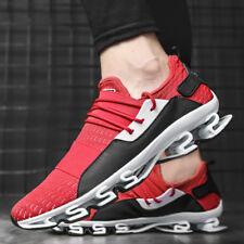 Мужская повседневная ходьба фитнес кроссовки без шнуровки лезвия для использования на открытом воздухе спортивная обувь