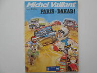 MICHEL VAILLANT PARIS DAKAR BE/TBE BROCHE PUBLICITAIRE ELF ANTAR