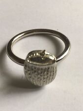Coconut Drink TG215  Fine English Pewter on a Scarf Ring